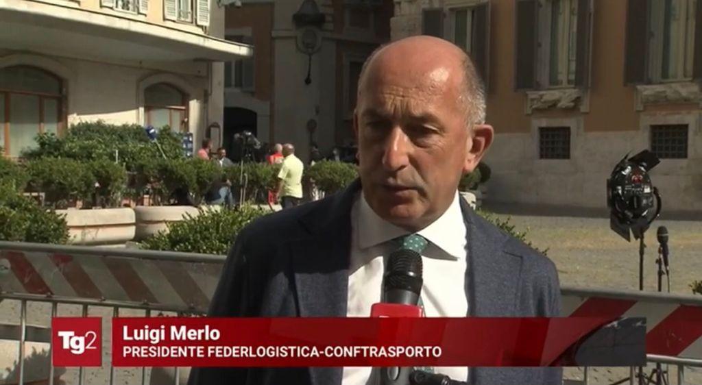 Luigi Merlo, presidente Federlogistica
